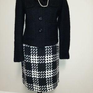 Merona Skirts - Black and White Skirt